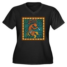 Best Seller Kokopelli Women's Plus Size V-Neck Dar