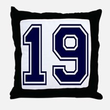 blue19.png Throw Pillow
