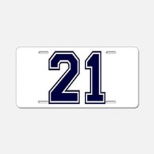 blue21.png Aluminum License Plate