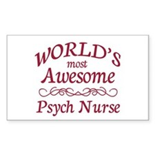 Psych Nurse Decal