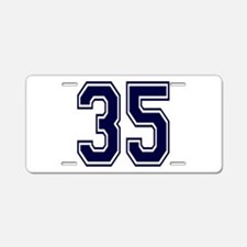 blue35.png Aluminum License Plate