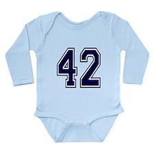 blue42.png Long Sleeve Infant Bodysuit