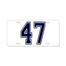 blue47.png Aluminum License Plate