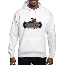 Glacier Bay Fleur de Moose Hoodie Sweatshirt