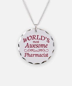 Awesome Pharmacist Necklace