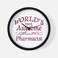 Awesome Pharmacist Wall Clock