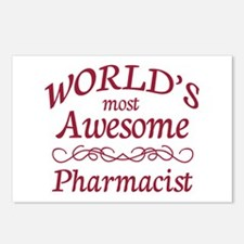 Awesome Pharmacist Postcards (Package of 8)