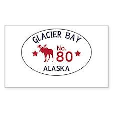 Glacier Bay Moose Badge Decal
