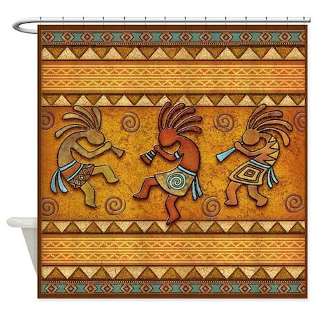 Best Seller Kokopelli Shower Curtain