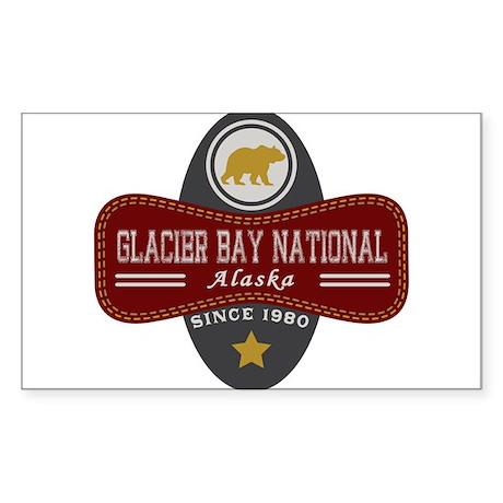 Glacier Bay Nature Marquis Sticker (Rectangle)