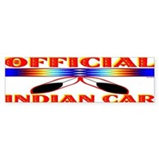 NATIVE AMERICAN BUMPER STICKER Bumper Sticker