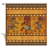 Kokopelli Shower Curtains