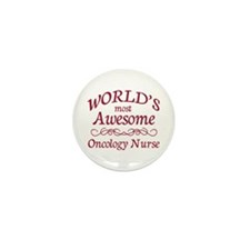 Awesome Oncology Nurse Mini Button (10 pack)