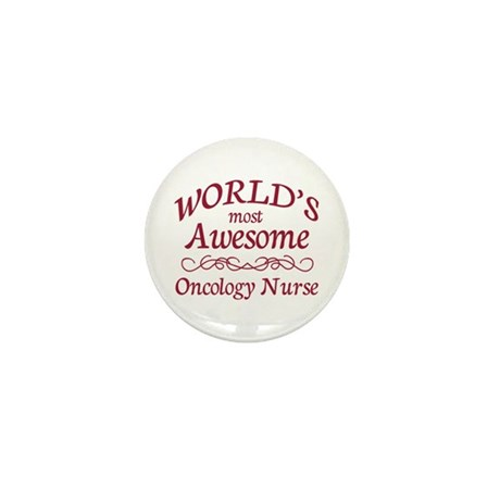 Awesome Oncology Nurse Mini Button (100 pack)