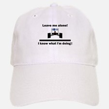 Leave me alone Baseball Baseball Cap