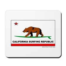 Ca. Surfing Republic Mousepad