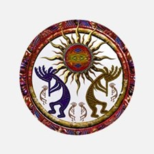"Best Seller Kokopelli 3.5"" Button (100 pack)"