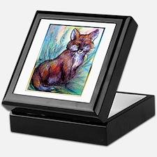 Fox, wildlife art! Keepsake Box