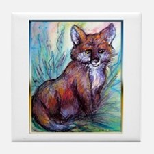 Fox, wildlife art! Tile Coaster
