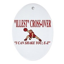 ILLEST CROSSOVER Ornament (Oval)