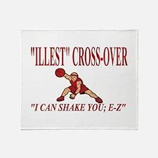 ILLEST CROSSOVER Throw Blanket