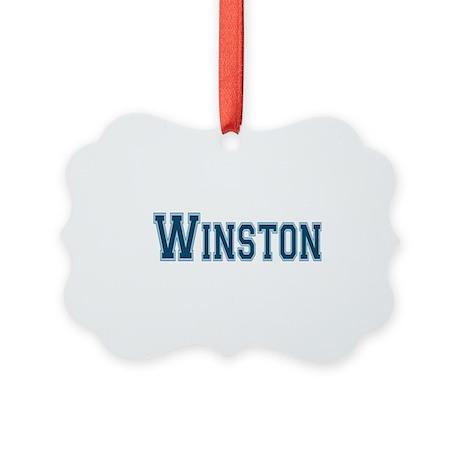 Winston Picture Ornament