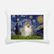 Unique Pom Rectangular Canvas Pillow