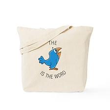 cartoon bird Tote Bag