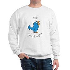 cartoon bird Sweatshirt