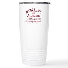 Awesome Nursing Instructor Travel Mug