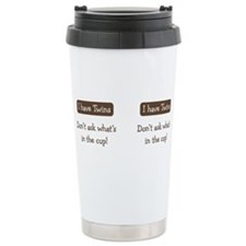 Cute Twins Travel Mug