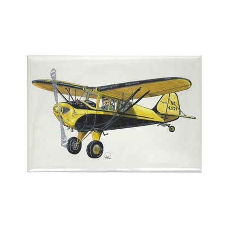 TaylorCraft Airplane Rectangle Magnet