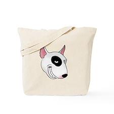 bull terrier head Tote Bag