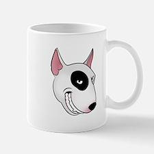 bull terrier head Mug