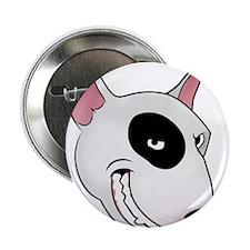"bull terrier head 2.25"" Button"