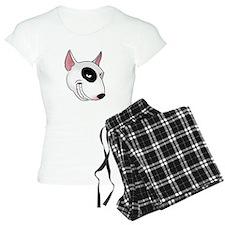 bull terrier head Pajamas
