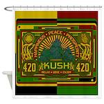 420 Kush Shower Curtain