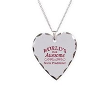 Awesome Nurse Practitioner Necklace