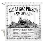 Alcatraz Prison Shower Curtain