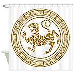Shotokan Tiger Shower Curtain