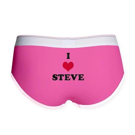 I Love Steve Women's Boy Brief