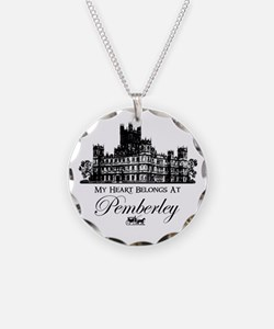 my heart belongs at Pemberley Necklace