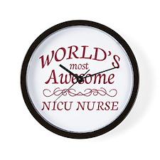 Awesome NICU Nurse Wall Clock