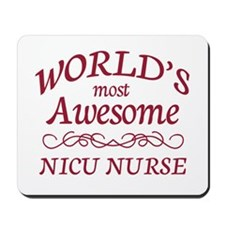 Awesome NICU Nurse Mousepad