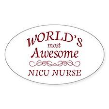 Awesome NICU Nurse Decal