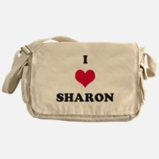 I Love Sharon Messenger Bag