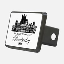 my heart belongs at Pemberley Hitch Cover