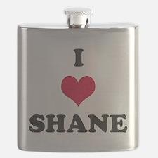 I Love Shane Flask