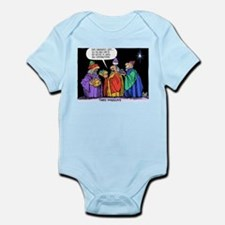 Three Wiseguys Infant Bodysuit