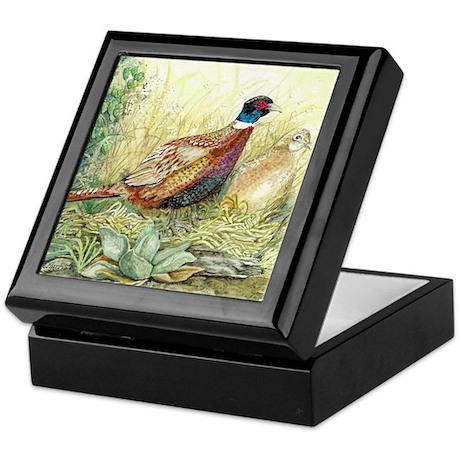 Pheasant Keepsake Box